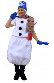 Костюм Снеговика в синем ведре