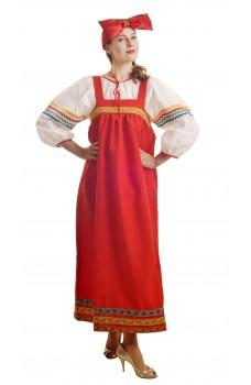 Костюм Барыни в красном сарафане