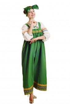Костюм Барыни в зеленом сарафане