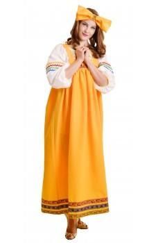 Костюм Барыни в желтом сарафане