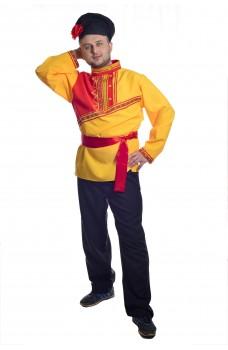 Костюм Барина в желтой рубахе