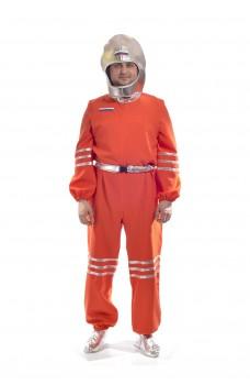 Костюм Космонавта в серебристом шлеме