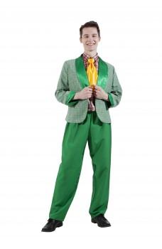 Костюм стиляги зеленый