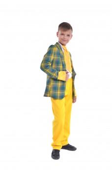 Костюм стиляги с желтыми штанами