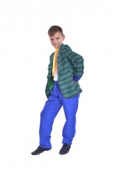 Костюм стиляги с синими штанами