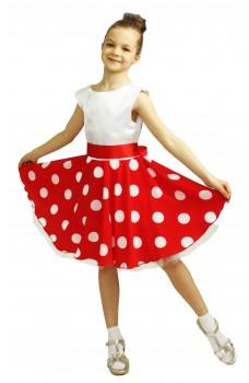Платье стиляги для девочки