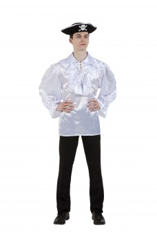 Пиратская рубашка белая
